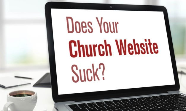 Does Your Church Website Suck?