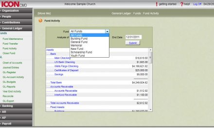 Integrated Accounting and ChMS Tech Gives Churches Edge