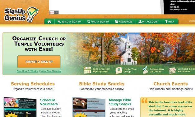 2 Online Tools to Organize Volunteers