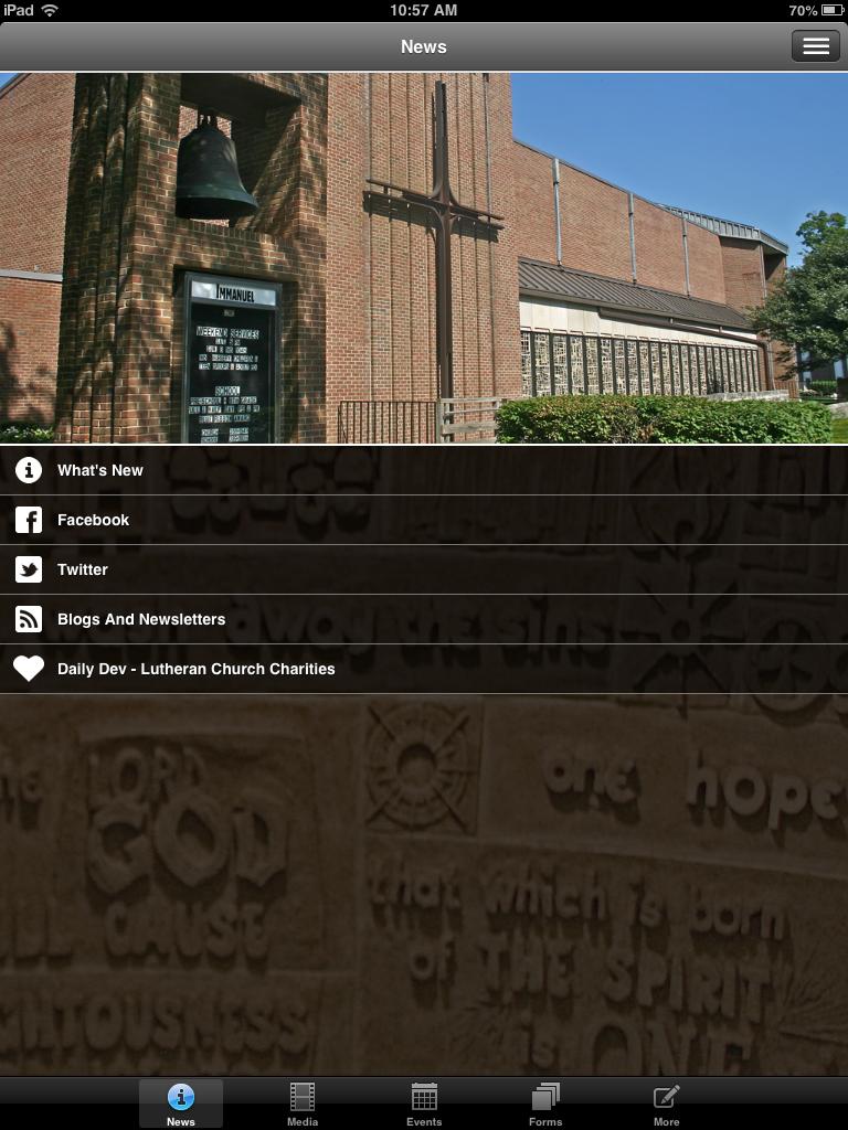 Roar Immanuel Lutheran App