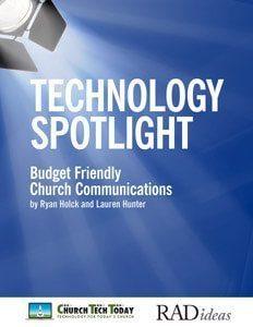 Budget Friendly Church Communications ebook