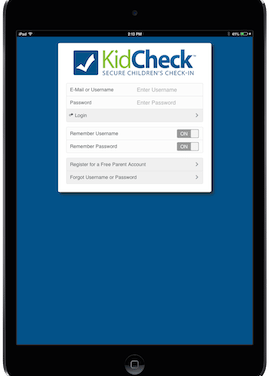 KidCheck Launches Mobile Check-in App