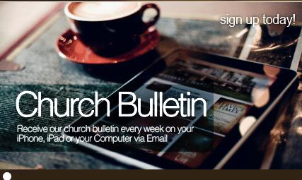 Bulletin Plus Offers Innovative Alternative to the Church Bulletin
