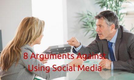 8 Arguments Against Using Social Media