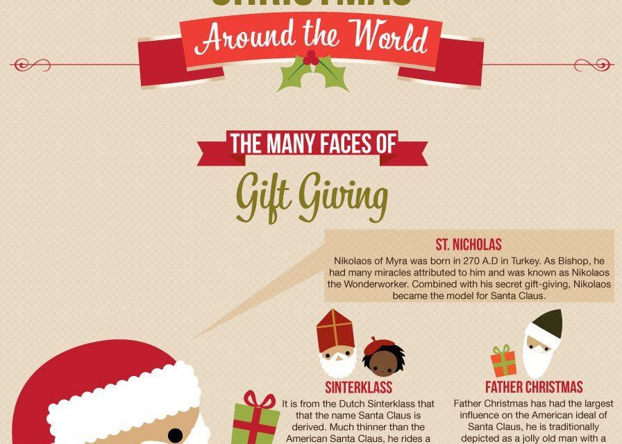 Christmas Around the World [Infographic]