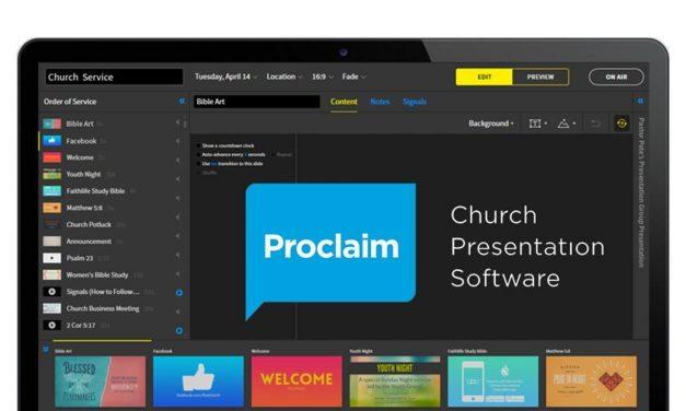 Proclaim Presentation Software [Review]