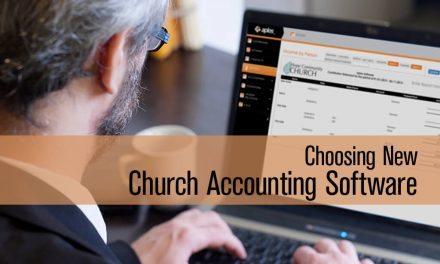 Choosing New Church Accounting Software