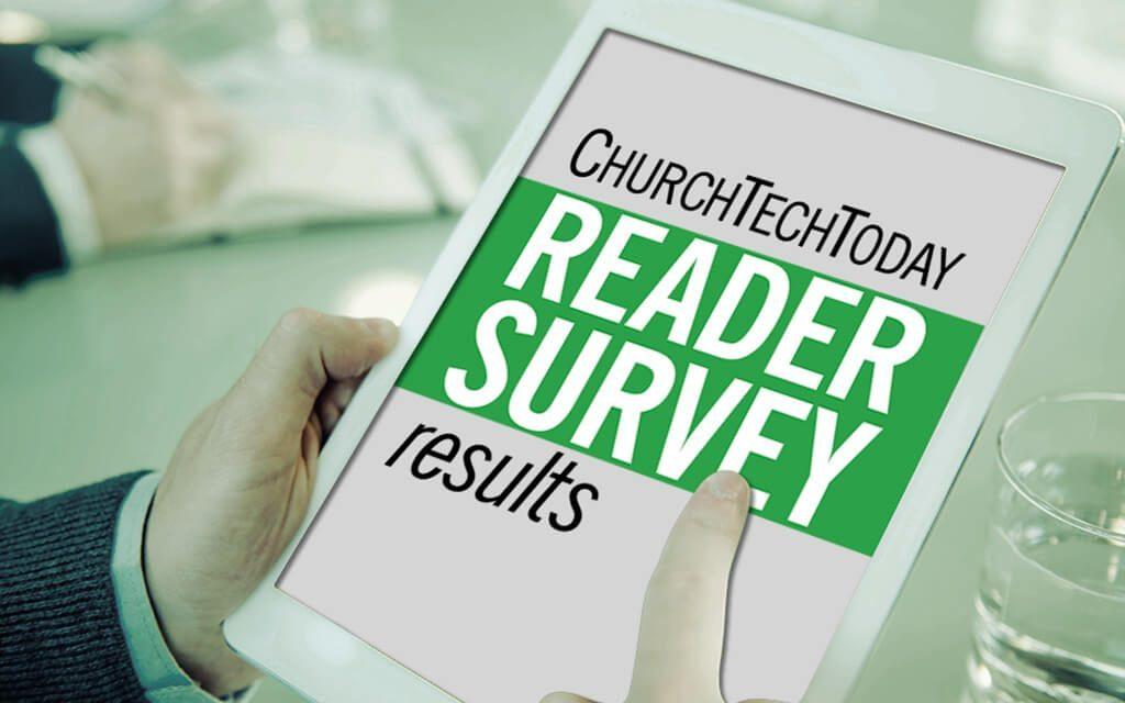 ChurchTechToday Reader Survey Results