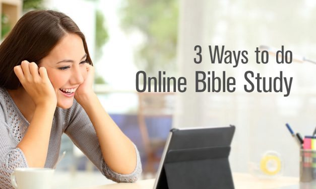 3 Ways to do Online Bible Study