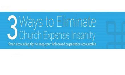 3 Ways to Eliminate Church Expense Insanity