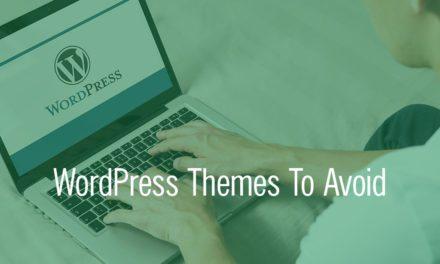Popular WordPress Themes Your Church Should Avoid