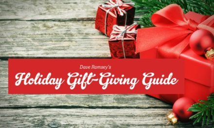 Holiday Gift Giving Guide [Infographic]