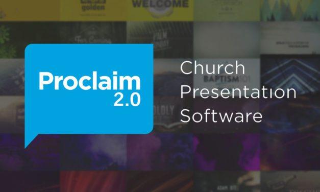 Proclaim 2.0 Church Presentation Software Review