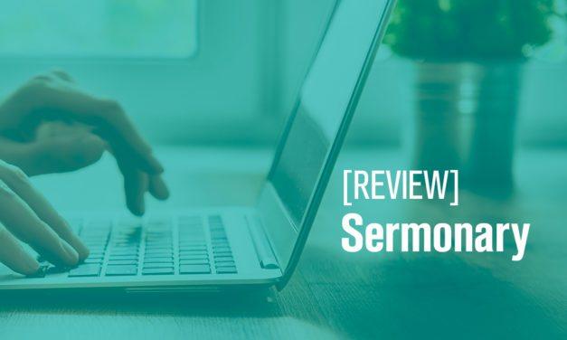 Sermonary Online Sermon Prep [Review]