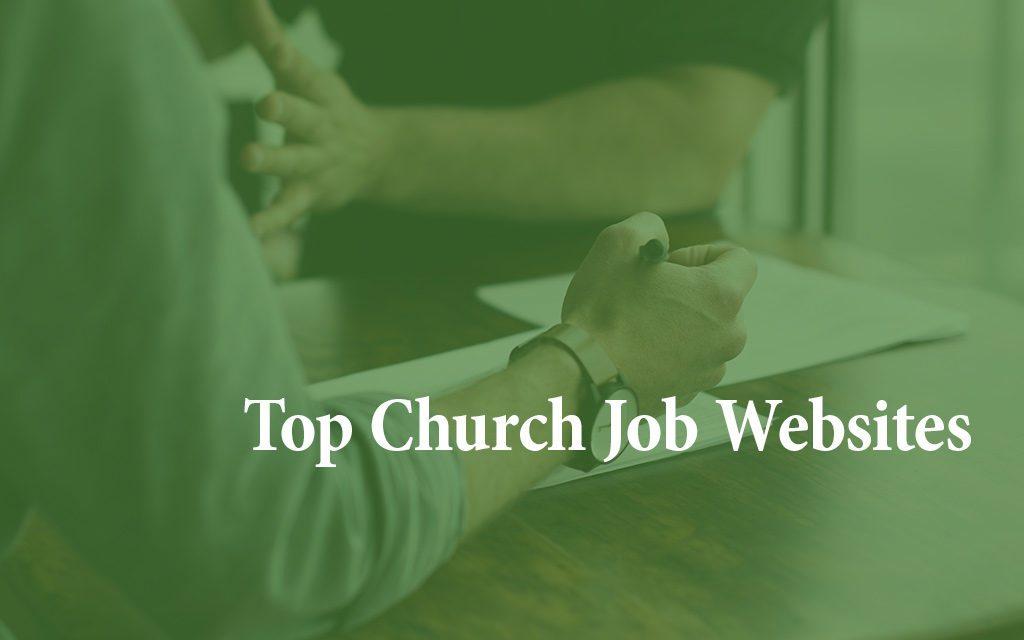 8 Top Church Job Websites