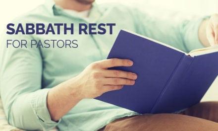 Sabbath Rest for Pastors