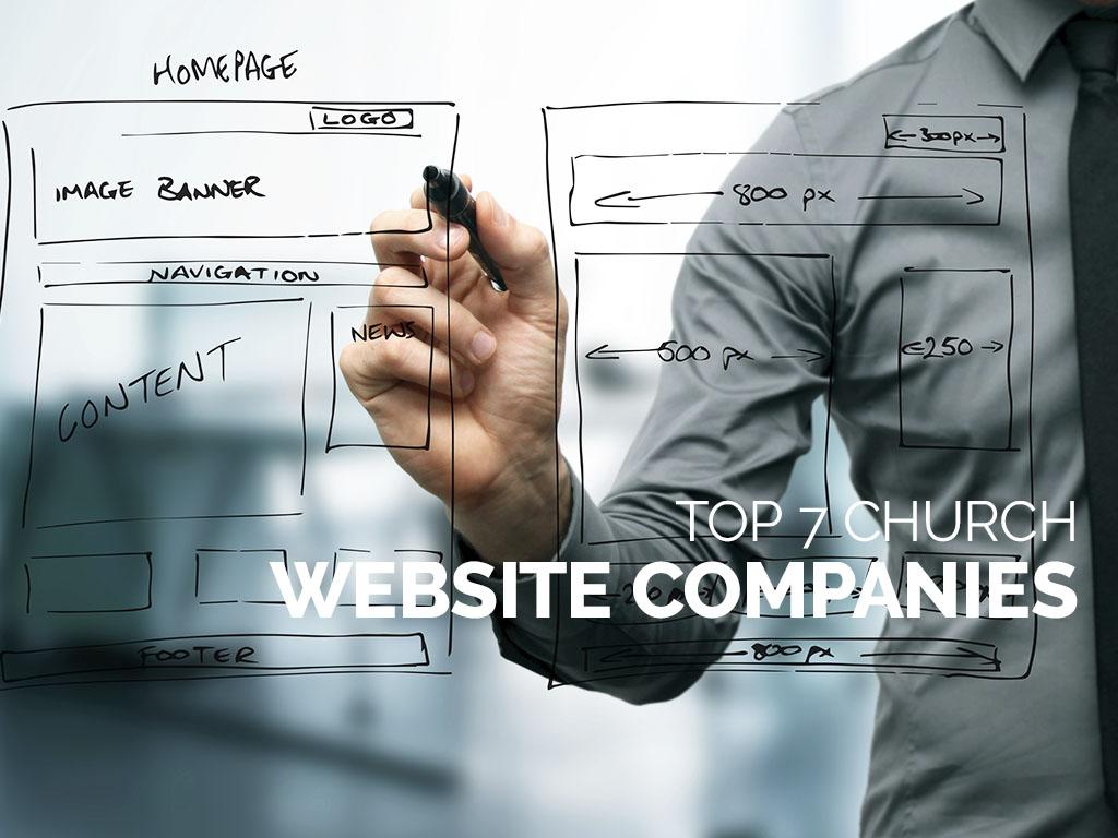 Top 7 Church Website Companies