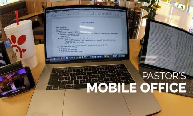 Pastor's Mobile Office