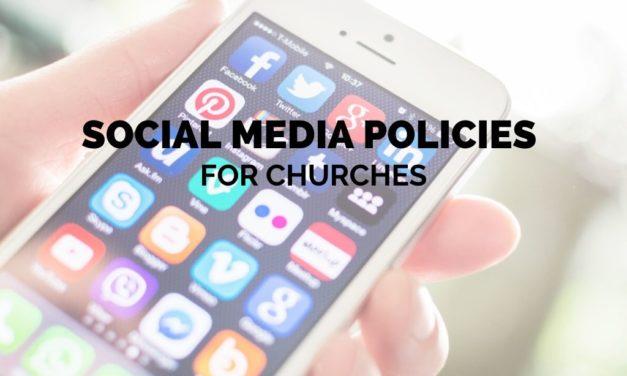 Social Media Policies for Churches