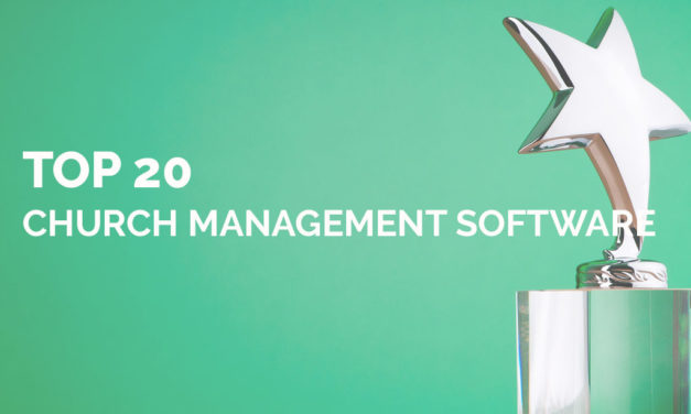 Top 20 Church Management Software [Infographic]