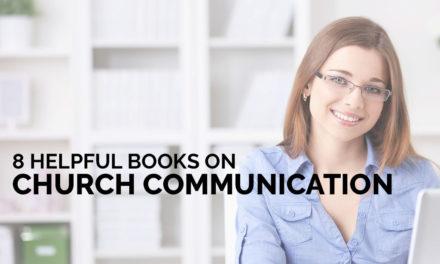 8 Helpful Books on Church Communication