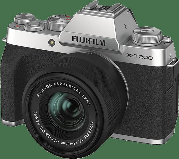 photo of the camera Fuji XT200