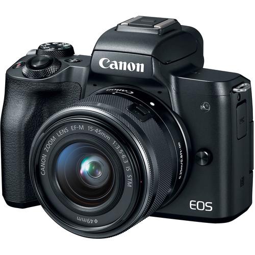 photo of the camera Canon M50