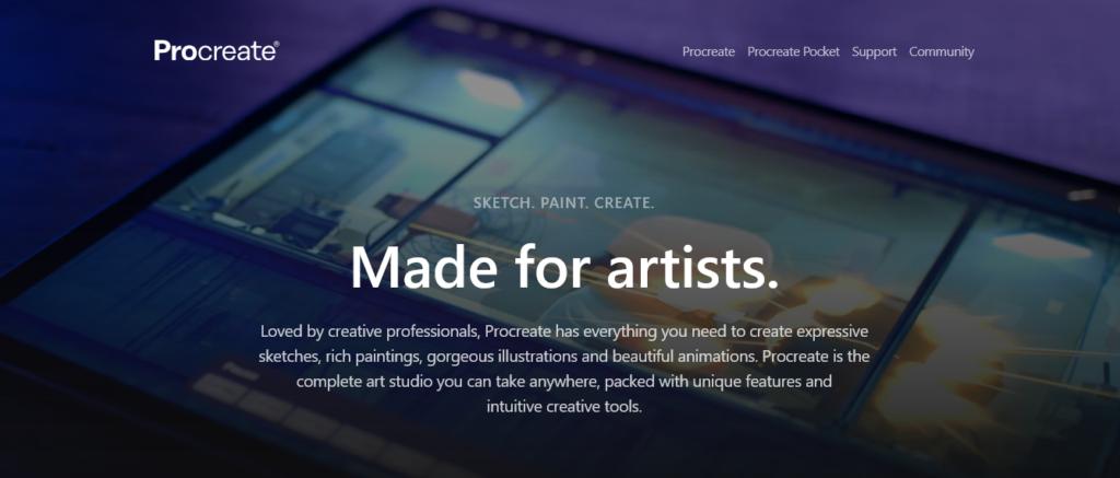onlinedesigntoolsProcreate